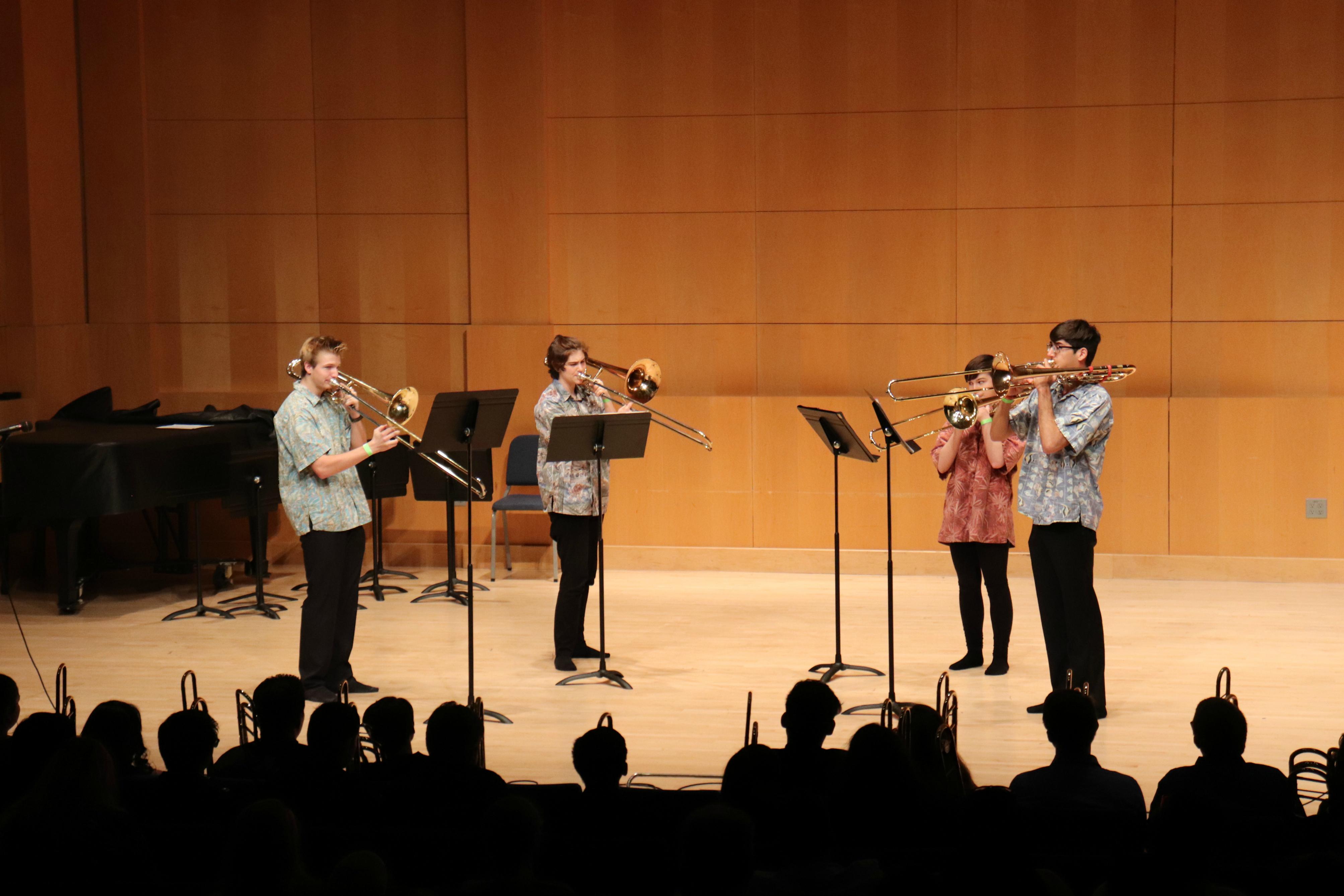 Trombone Quartet Competition